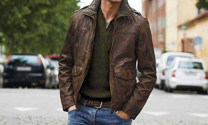 Men's Italian Leather Jackets from Florence Italy