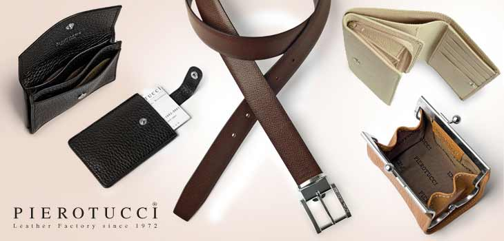 Buy from our collection of Pierotucci Fine Leather Accessories