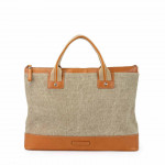 Leather & Canvas Business Bag