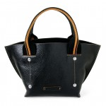 Small Leather Tote Bag from Toscanella