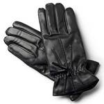 Classic Black Gloves with decorative tassel