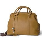 Designer All Leather Doctor's Bag