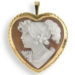 Heart Shaped Cameo