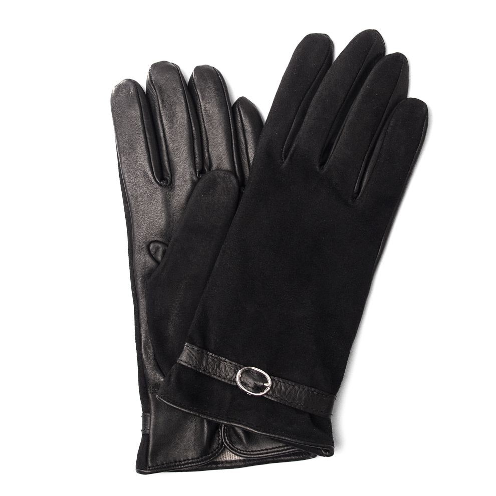 Deluxe Leather Suede Gloves: Smart Phone Leather Gloves For Women From Pierotucci