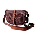 Campomaggi Cross Body Bag with several exterior pockets