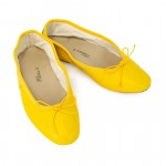 Porselli Ballet Flat - Yellow