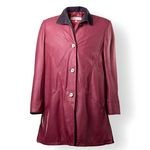 Bordeaux Italian Leather Jackets from Florence