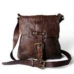 Campomaggi Cross Body Messenger Bag with front buckle
