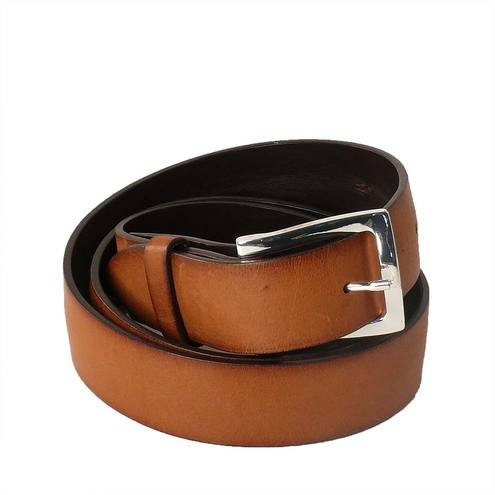 italian leather belts from post co in brown