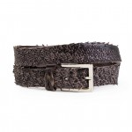 Belts for Women & Men in brown leather