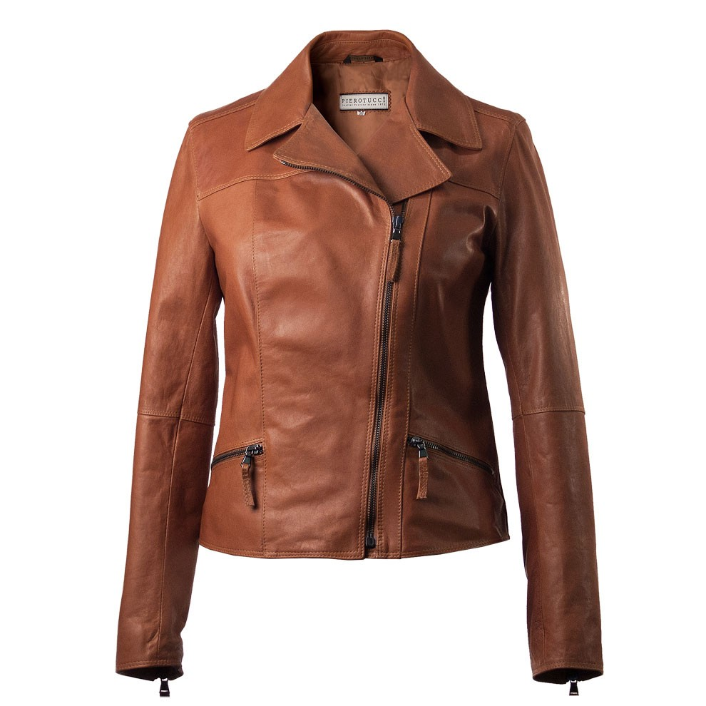 Designer Italian Leather Jackets for Women | Pierotucci