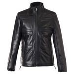 Winter Leather Jacket for Men with Valtherm