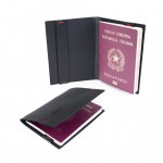 Leather Passport Cover in Italian Cuoio