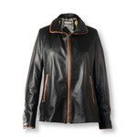 Black Quality Leather Jacket for Women