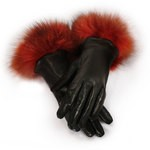 2 button length Genuine rabbit fur cuffs Side vent 100% wool lining