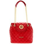 Shoulder Bag in Quilted Faux Leather