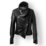 Vintage Leather Jacket for Women
