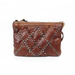Cross body bag with studs