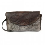 Small Cross Body Shoulder Bag in Washed Leather