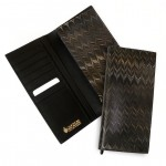 Cuoiofficine Wallet Long Unisex in Marbled Leather