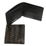 Cuoiofficine Wallet for Men in Marbled Leather
