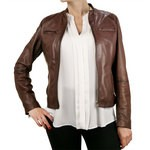 Jacket with Zip - Slim Fit for Women