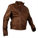 Biker Style Jacket with Zip for Men