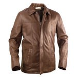Jacket with Covered Zip for Men