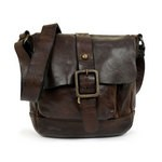 Campomaggi Small Messenger Bag in Washed Leather - C006550ND