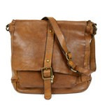 Campomaggi Large Messenger Bag in Washed Leather - 006530ND