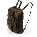 Campomaggi Washed Leather Multipocket Backpack - C006410ND