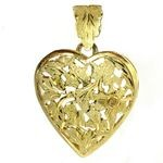 Sweetheart Large Gold Charm