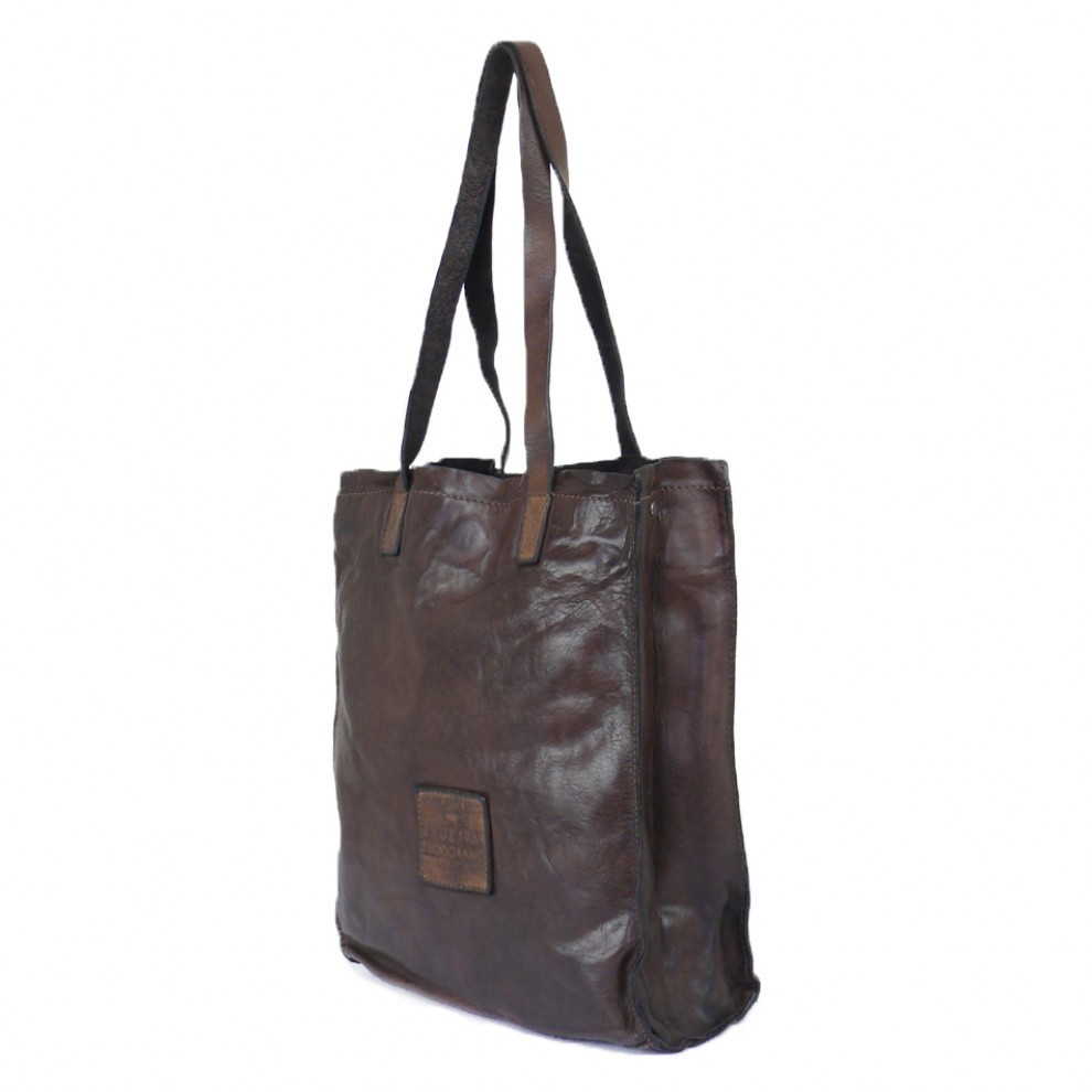 150179708b6d8 Women s Shopping Tote Bag in Washed Leather. Campomaggi C006830ND X0001