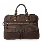 Unisex Work Bag in Distressed Cow Hide C014090ND