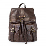 Vintage Leather Back Pack with Two Front Pockets C014190ND