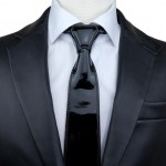 Men's Patent Leather Tie GM-CV06