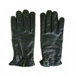 Leather Gloves with Wool Lining Made in Italy UL56-LA