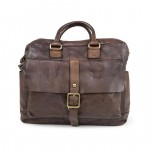 Leather Professional Work Bag Briefcase by Campomaggi C016100NDX0001