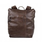 Leather Square shaped Backpack by Campomaggi C014390NDX0001
