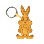 Leather Key Chains Bunny Rabbit【La Cuoieria】 70228
