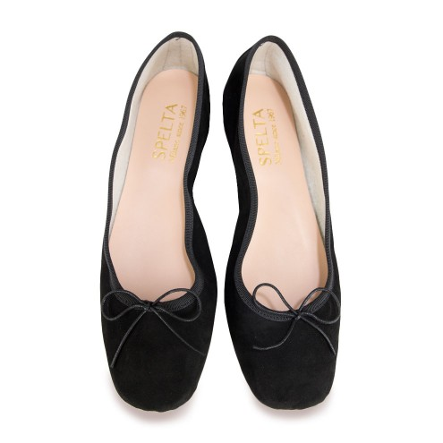 Ballet Flats with Square Toe - Sofia