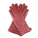 Leather Quilted Gloves Cashmere lined Made in Italy TLD-CA