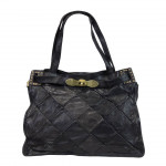 Leather Shoulder Handbag diamond design by Campomaggi C022650ND