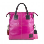 Fortunata Borsa Shopper in pelle tinta unita 4853-PE-20