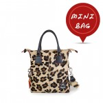 Mini Me Bag Pony Hair Leather Tote Collection - Leopard 4851-SP Leo