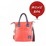 Small Tote Leather Bag in Coral Pink 4851-PE_Printed_Pink