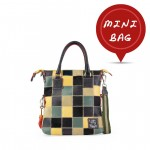 Mini Me Leather Patchwork Tote Collection - Yellow 4851-PW_Yellow