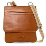 Leather Messenger Crossbody Bag for Men Made in Florence 1524-VA