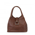 Leather Hobo Shoulder Bag for Women Made in Florence 2044-VA
