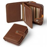 All Leather Womens Wallet Compact 553-VA